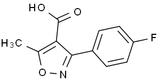 3-(4-氟苯基)-5-甲基-4-异恶唑羧酸